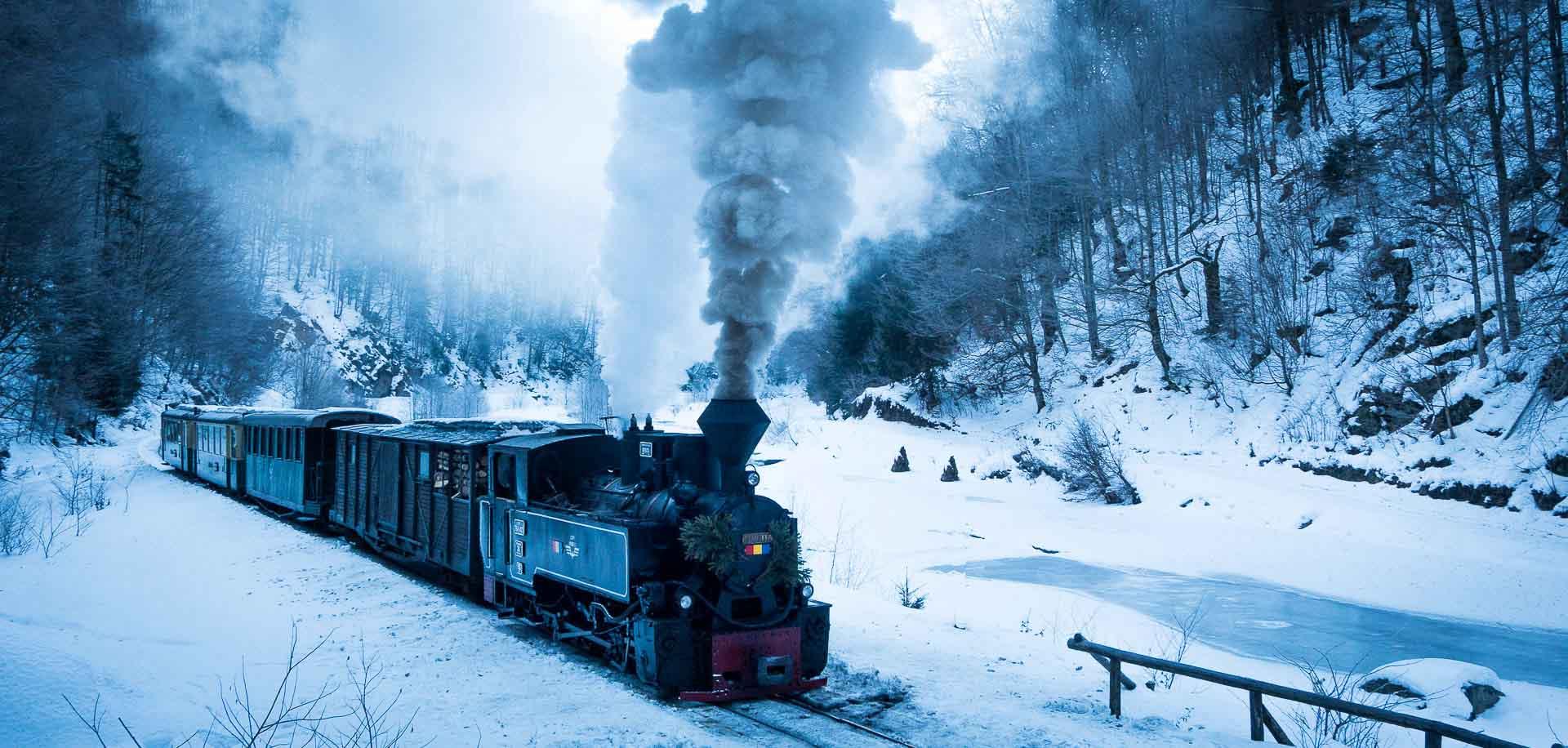 Romania Photo Tours - Steam train in Maramures