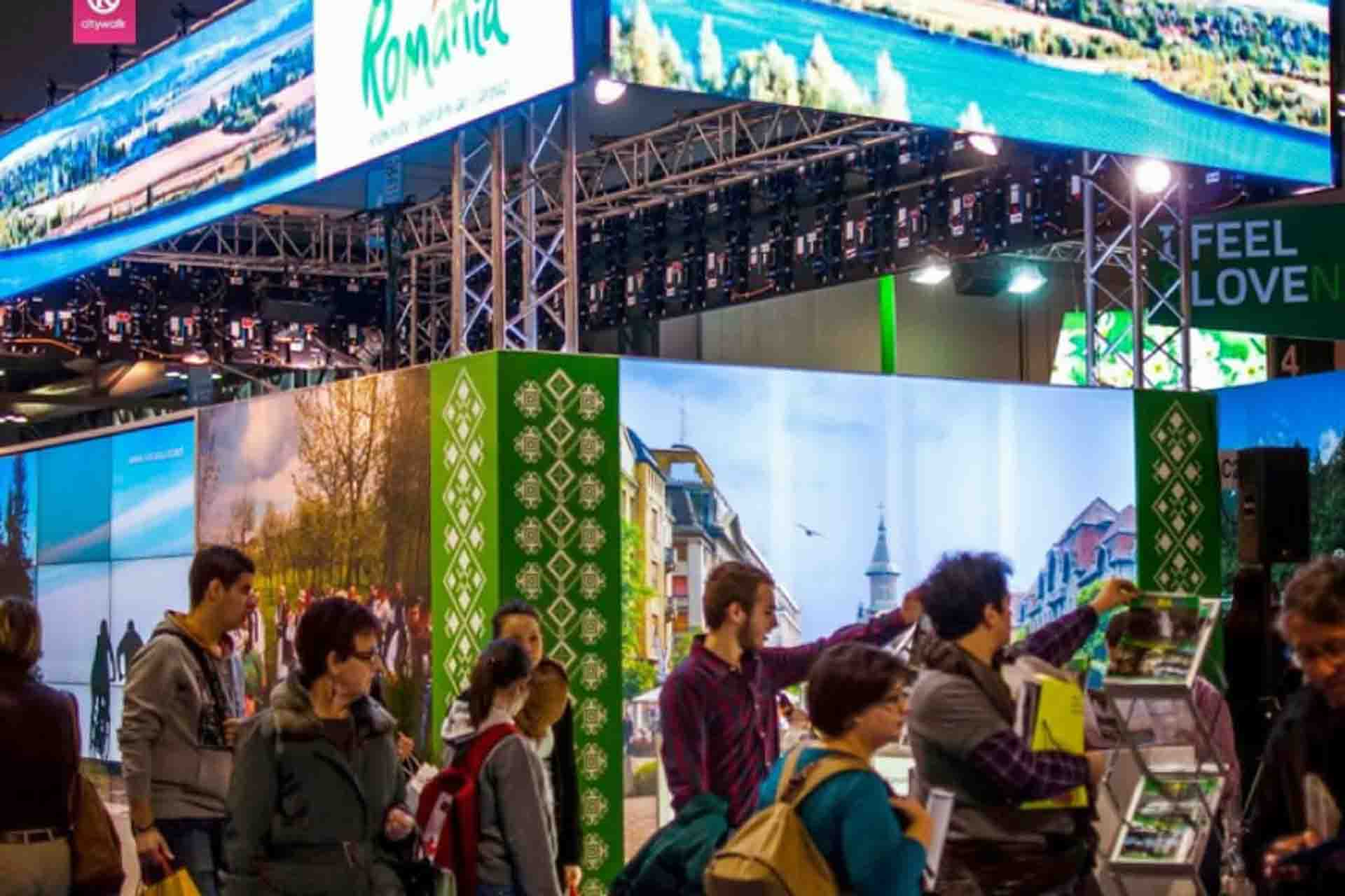 True Romania Tours - Exhibited at international travel fairs
