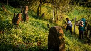 Jewish cemetery in Romania