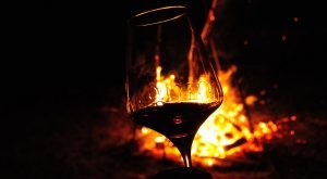 Wine Tour of Romania - Glass of red wine