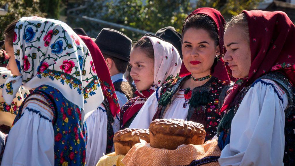 Festival in Maramures Region