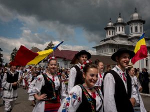 national day of romanian traditional clothing
