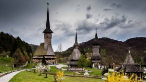 wodden monasteries
