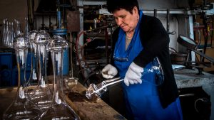 Traditional Crafts and Occupations - Making glass