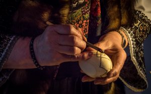 Traditional Crafts and Occupations - Painting eggs