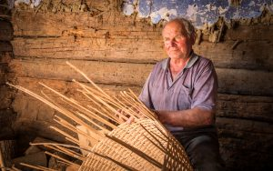 Traditional Crafts and Occupations - Straw basket making