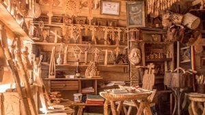 Traditional Crafts and Occupations - Woodcarving