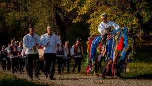 Attend a traditional wedding in Maramures