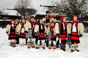 Christmas Caroling in Maramures