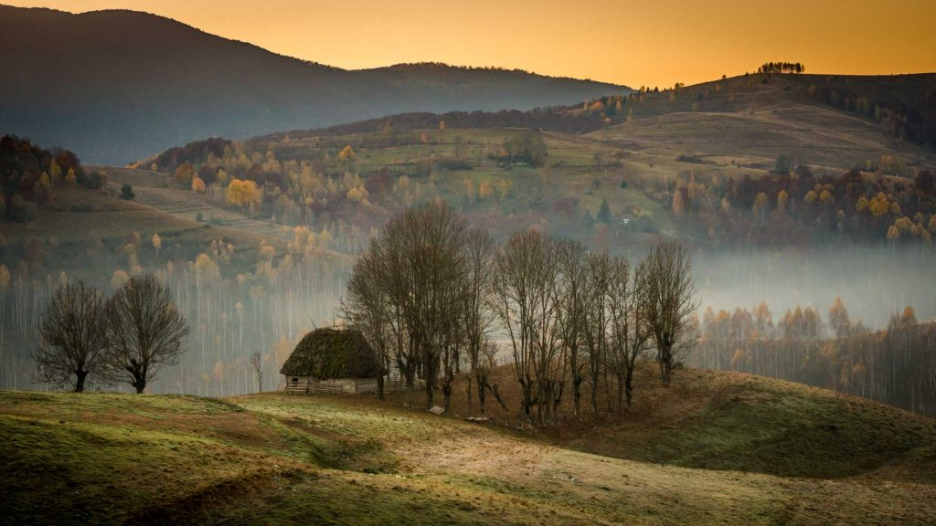 The Apuseni Mountains - sunrise