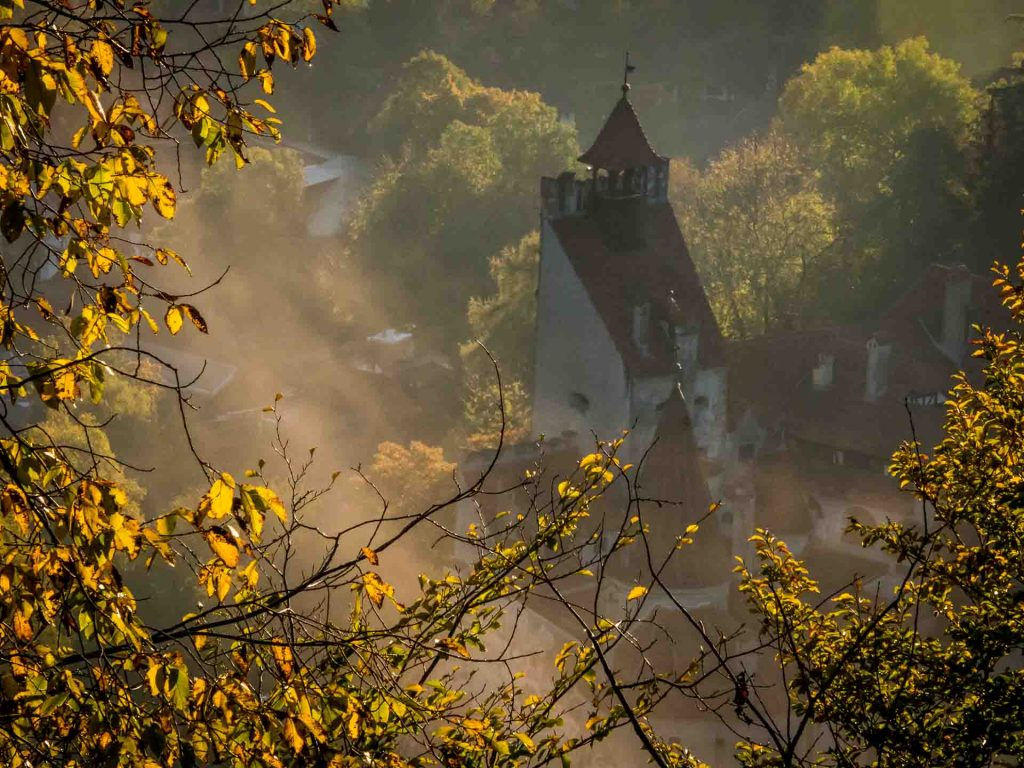 View of the Bran Castle