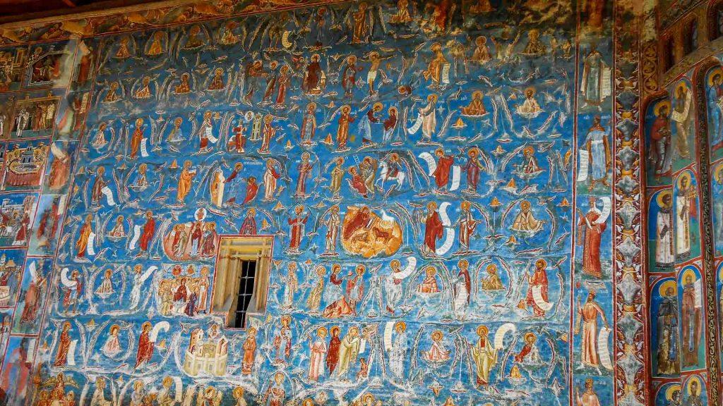 Voronet Monastery - Voronet blue