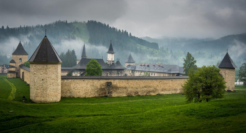 bucovina Sucevita painted monastery