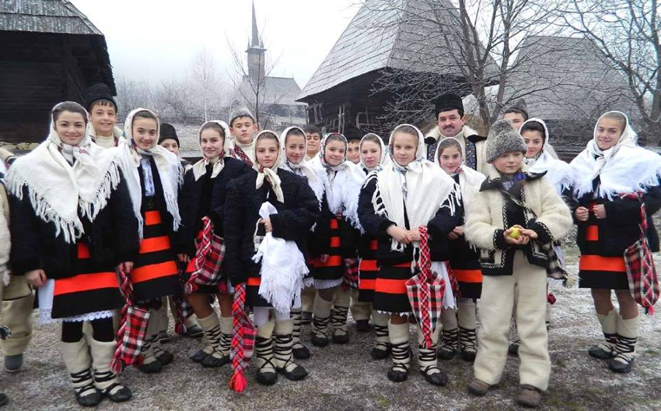 Christmas in Romania - Caroling on Christmas Eve