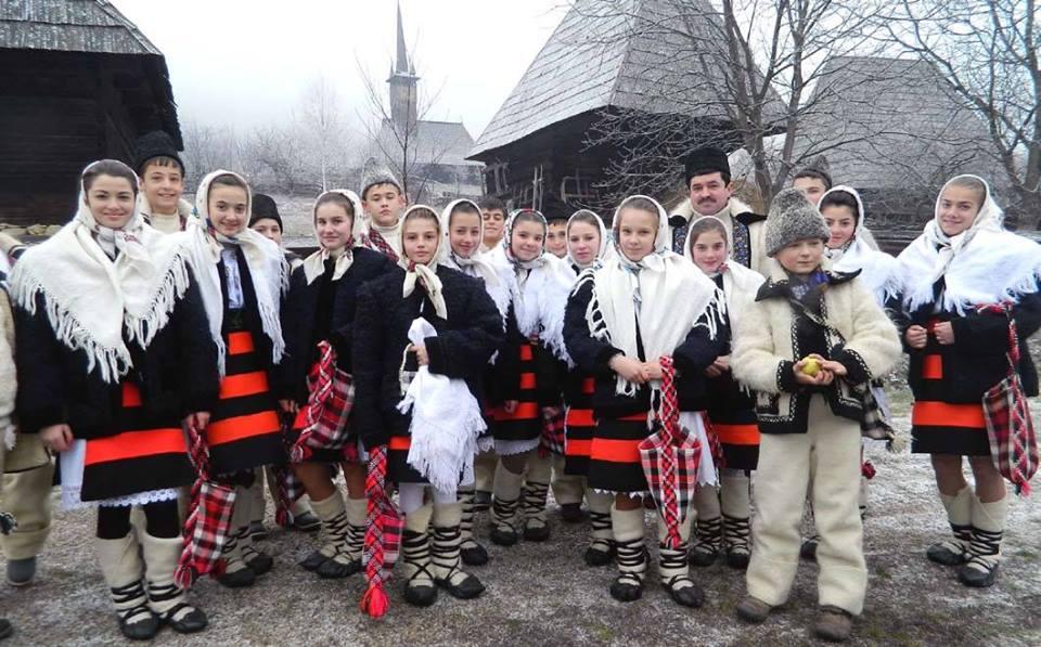 Christmas in Romania - Caroling on Christmas Eve