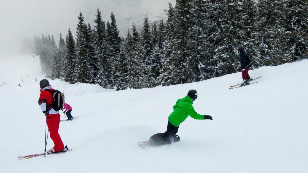 Christmas in Romania - Winter sports
