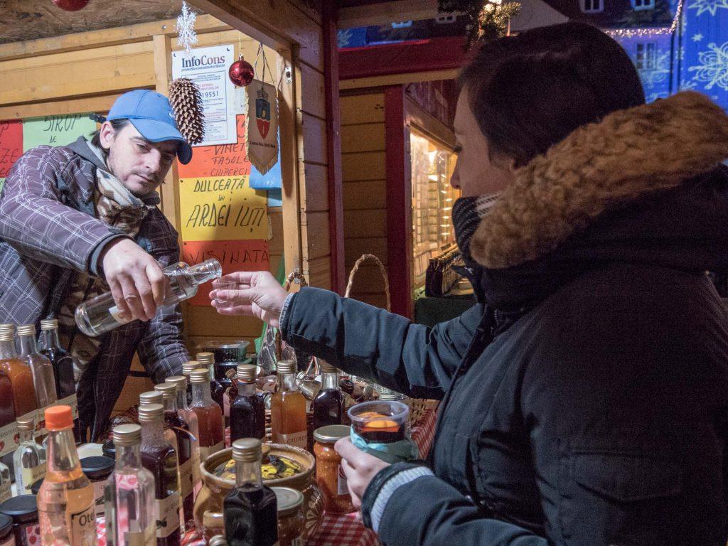 Christmas Market in Romania