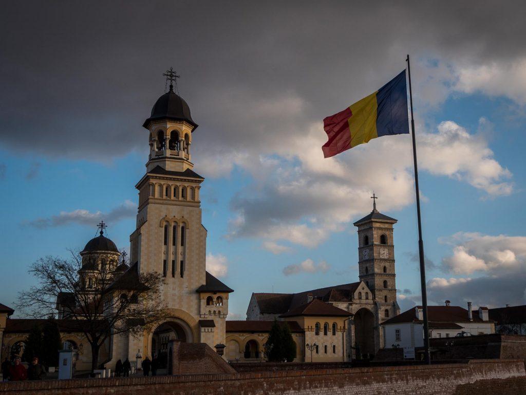 The town of Alba Iulia