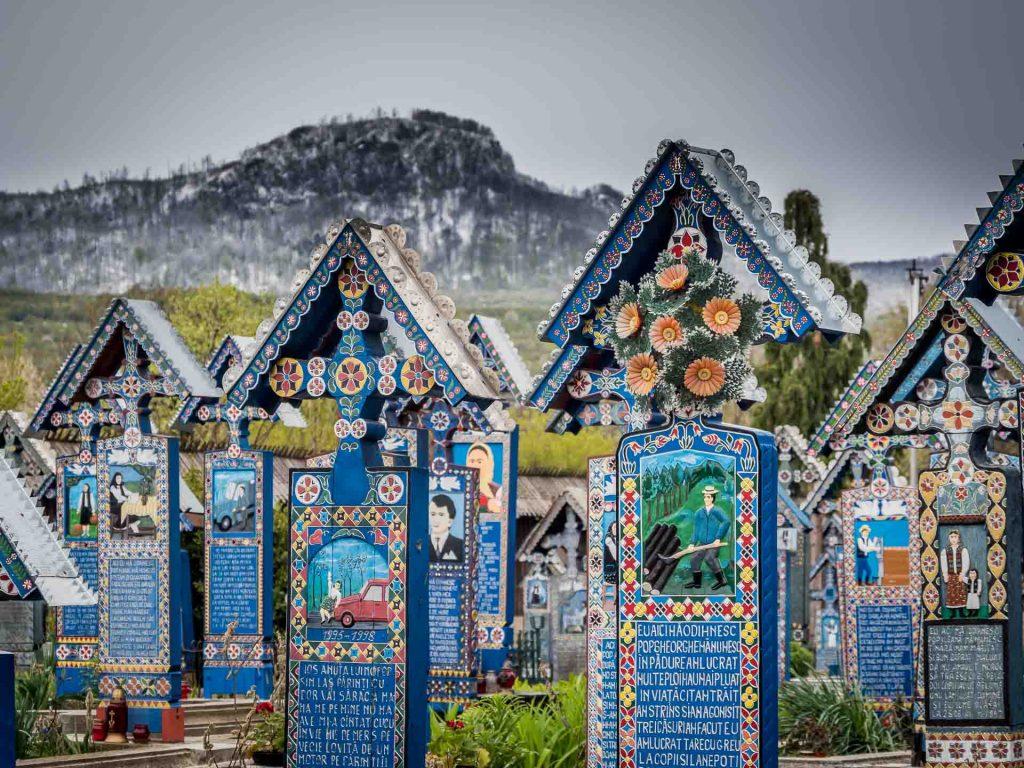 Sapanta merry cemetery