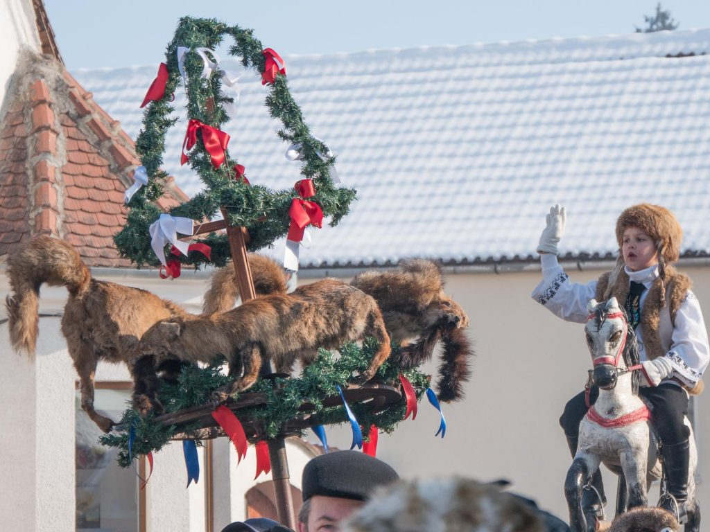 Transylvanian Saxon Customs - fox crown