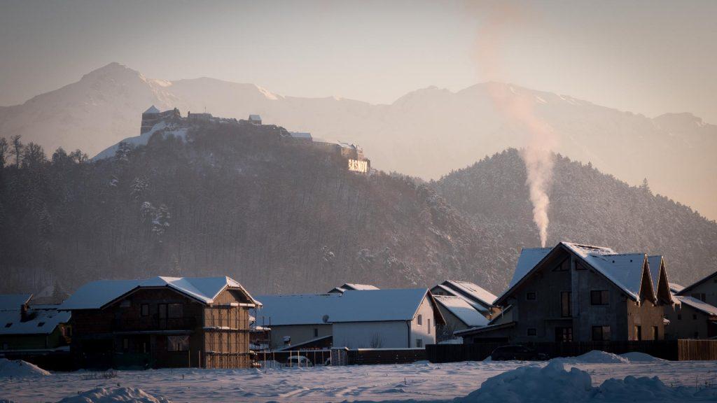 Winter in Romania - Rasnov
