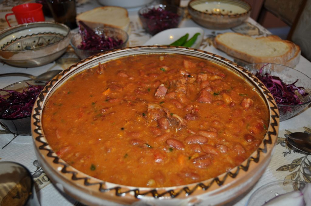 Traditional Romanian dish