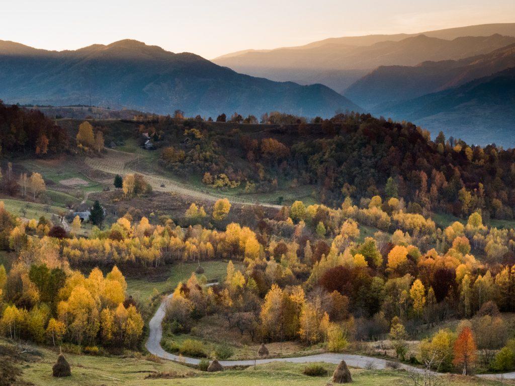 Apuseni Mountains in Fall