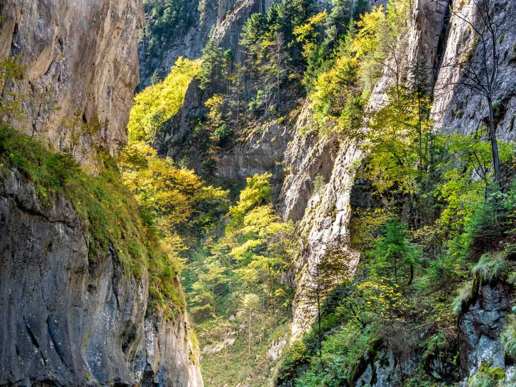Bicaz Gorges - Best attractions in Transylvania